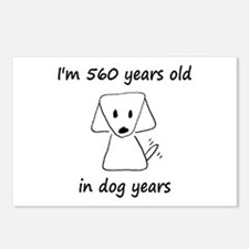 80 dog years 6 - 2 Postcards (Package of 8)