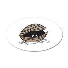 CLAM EYES Wall Decal