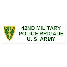 42nd MP Brigade <BR>Bumper Bumper Sticker