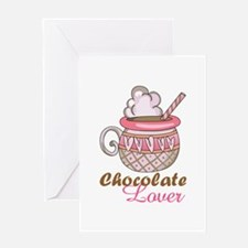 Chocolate Lover Greeting Cards