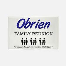 Obrien Family Reunion Rectangle Magnet