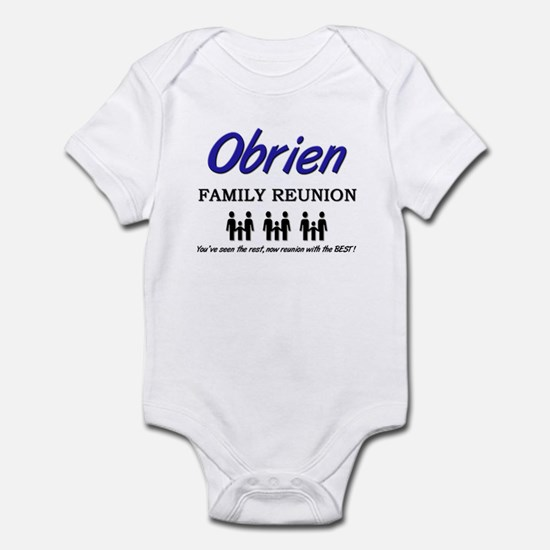 Obrien Family Reunion Infant Bodysuit