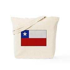 """Chile Flag"" Tote Bag"
