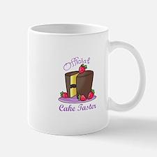 OFFICIAL CAKE TASTER Mugs