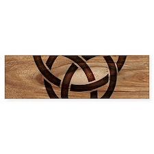 celtic knot Bumper Bumper Sticker