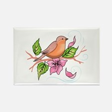 ROBIN ON BRANCH Magnets