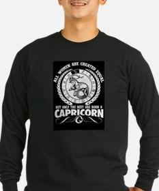 Capricorn women Long Sleeve T-Shirt