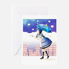 Unique Sailor moon Greeting Card