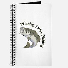 WISHING I WAS FISHING Journal