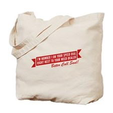 Speed Dial Saul Tote Bag