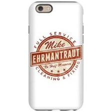Retro Mike Ehrmantraut Cleaner iPhone 6 Tough Case
