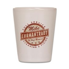 Retro Mike Ehrmantraut Cleaner Shot Glass