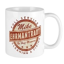 Retro Mike Ehrmantraut Cleaner Mugs
