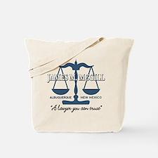 James McGill Lawyer Tote Bag