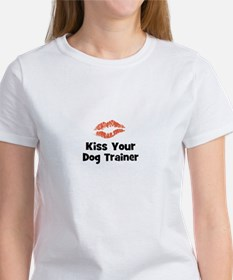 Kiss Your Dog Trainer Tee