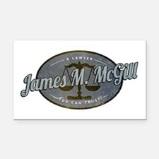 James McGill Lawyer Retro Rectangle Car Magnet
