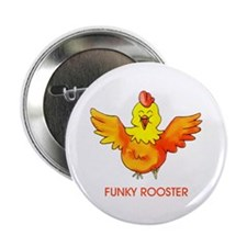Funky Rooster Button