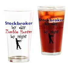 Stockbroker By Day Zombie Hunter By Night Drinking