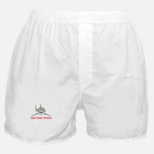 HERE COMES TROUBLE Boxer Shorts