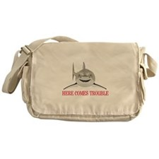 HERE COMES TROUBLE Messenger Bag