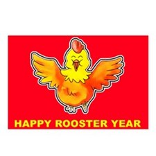 Funky Rooster Postcards (8)