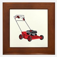 LAWN MOWER Framed Tile