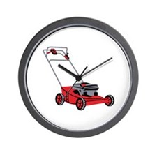 LAWN MOWER Wall Clock