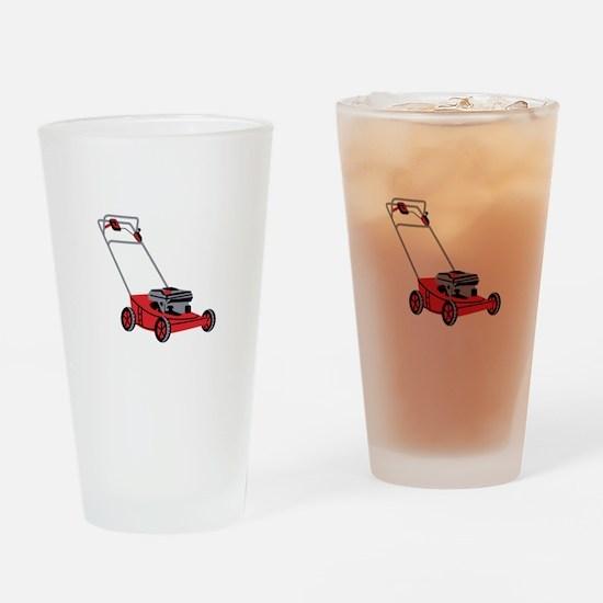 LAWN MOWER Drinking Glass