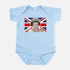 Majestic! HM Queen Elizabeth II Body Suit