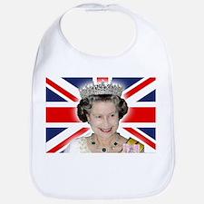 Majestic! HM Queen Elizabeth II Bib
