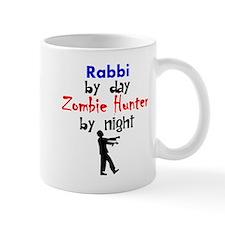 Rabbi By Day Zombie Hunter By Night Mugs