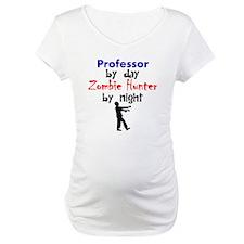 Professor By Day Zombie Hunter By Night Shirt