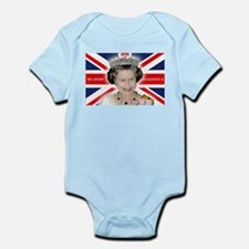 Majestic! HM Queen Elizabeth II Body Suit