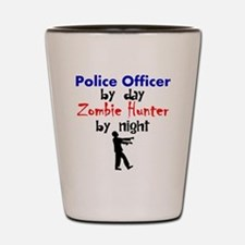 Police Officer By Day Zombie Hunter By Night Shot