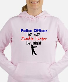 Police Officer By Day Zombie Hunter By Night Women
