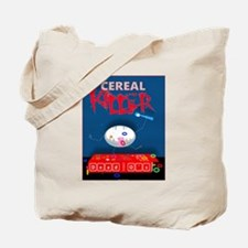 Funny Cereal killer Tote Bag
