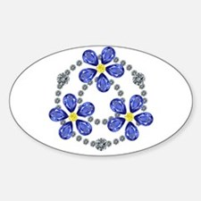 Forget Me Not Flowers Decal