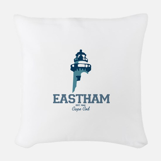 Eastham - Cape Cod. Woven Throw Pillow