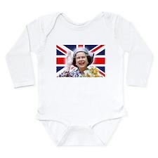 Stunning! HM Queen Elizabeth II Body Suit