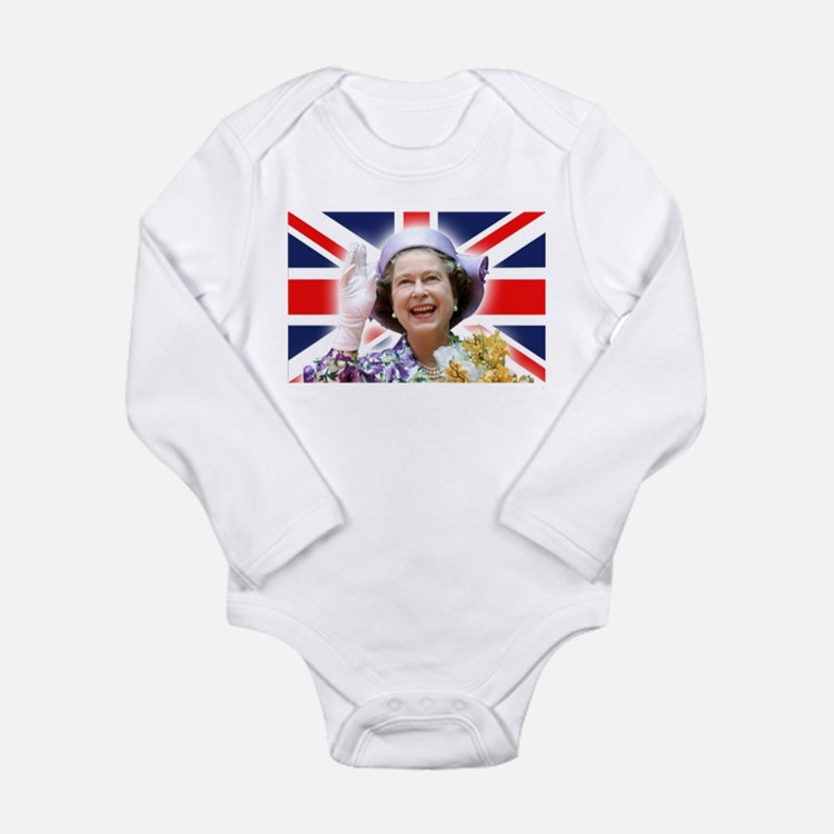 Stunning! HM Queen Elizabeth II Body Suit