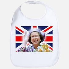 Stunning! HM Queen Elizabeth II Bib