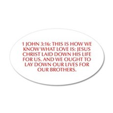 1 John 3 16 This is how we know what love is Jesus