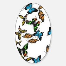 All The Colored Butterflies Decal