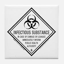 Infectious Symbol: Tile Coaster
