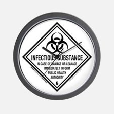 Infectious Symbol: Wall Clock