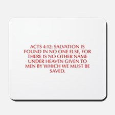 Acts 4 12 Salvation is found in no one else for th