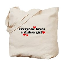 Shiksa Girl Tote Bag