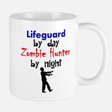 Lifeguard By Day Zombie Hunter By Night Mugs