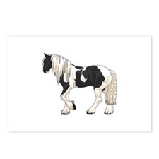 LARGER GYPSY VANNER Postcards (Package of 8)
