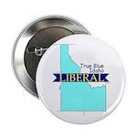 """2.25"""" Button (10 pack) True Blue Idaho LIBERAL"""